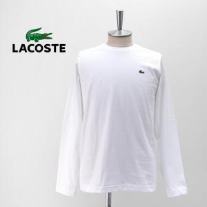 LACOSTE ラコステ メンズ スリムフィット コットンTシャツ(TH0451L)(2020FW) u-oak