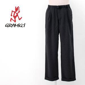GRAMICCI グラミチ メンズ ウールブレンド タックテーパードパンツ(GMP-20F034)(2020FW) u-oak
