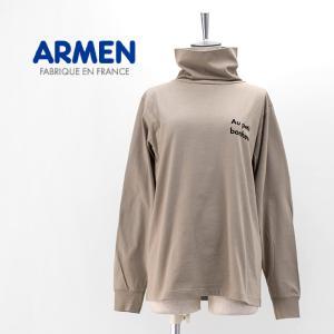 ARMEN アーメン レディース AU PETIT コットンジャージータートルネックL/S(NFA2051P24)(2020FW)|u-oak