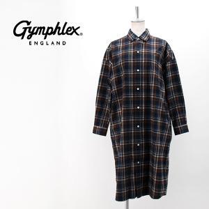 Gymphlex ジムフレックス レディース ビエラ起毛チェックワンピース(J-1176VHC)(BASIC)|u-oak