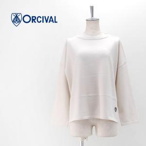 ORCIVAL オーシバル レディース MERINO WOOL ワイドプルオーバー(RC-4157)(BASIC) u-oak