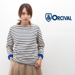 ORCIVAL オーシバル レディース フリースライニング コットンロードバスクシャツ(RC-9104)(BASIC) u-oak