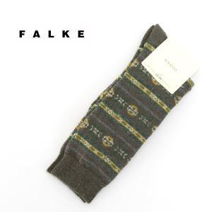 FALKE ファルケ ノルウェージャンソックス(47072)(FW) u-oak