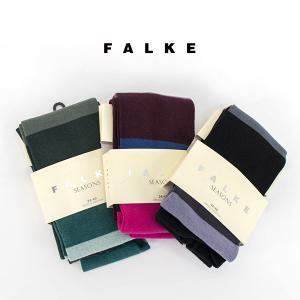 FALKE ファルケ ブロックカラータイツ(48742)(FW) u-oak