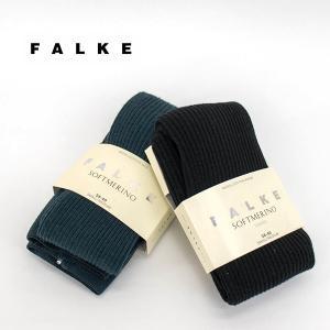 FALKE ファルケ SOFT MERINO RIB TIGHTS ソフトメリノリブタイツ (48455)(BASIC) u-oak