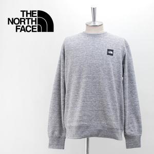 THE NORTH FACE ザノースフェイス メンズ ヘザーロゴクルー(NT12143)(BASIC)|u-oak