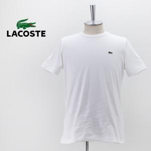LACOSTE ラコステ メンズ スリムフィット クロコエンブレム クルーネックTシャツ(TH5845L)(2021SS) u-oak