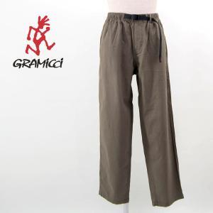 GRAMICCI グラミチ メンズ リネン ワイド テーパードパンツ(GMP-21S029)(2021SS) u-oak