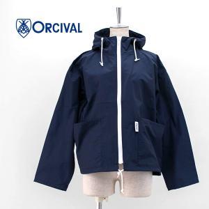 ORCIVAL オーシバル レディース C/N WEATHER CLOTH フードパーカー(RC-8126CDP)(2021SS) u-oak