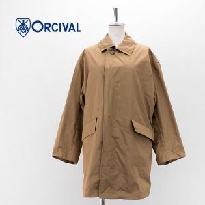 ORCIVAL オーシバル レディース タフタ ステンカラーコート(RC-8124NPN)(2021SS) u-oak