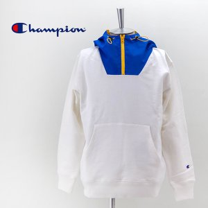 (SALE 50%OFF)Champion チャンピオン メンズ フーデッド スウェットシャツ(C3-T113)(2021SS)(返品交換不可)|u-oak