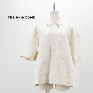 THE SHINZONE シンゾーン レディース リーフジャガードシャツ(21MMSBL01)(2021SS)|u-oak