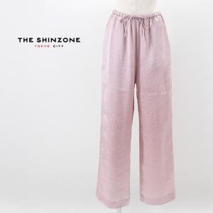 THE SHINZONE シンゾーン レディース サテンパンツ(21MMSPA11)(2021SS)|u-oak