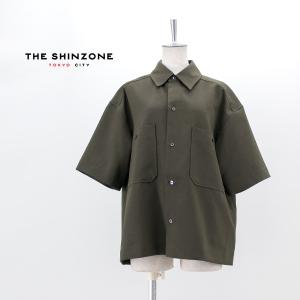 THE SHINZONE シンゾーン レディース トロピカルシャツ(21MMSBL09)(2021SS)|u-oak
