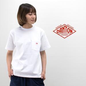 DANTON ダントン レディース ポケットTシャツ(JD-9041)(BASIC) u-oak