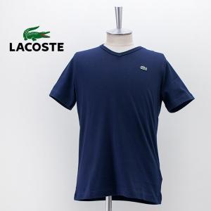 LACOSTE ラコステ メンズ ベーシックVネック 半袖Tシャツ(TH632EM)(2021SS) u-oak