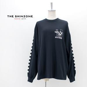 THE SHINZONE シンゾーン レディース PIZZA LONG Tシャツ(21MMSCU27)(2021SS)|u-oak