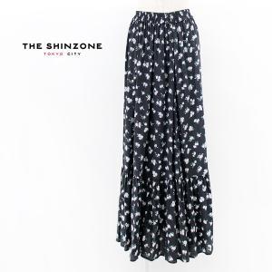 THE SHINZONE シンゾーン レディース フラワープリント スカート(21MMSSK07)(2021SS)|u-oak