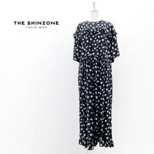 THE SHINZONE シンゾーン レディース フラワープリントワンピース(21MMSOP08)(2021SS)|u-oak