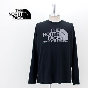 THE NORTH FACE ザノースフェイス メンズ ロングスリーブ GTDロゴクルー(NT12093)(2021FW)|u-oak