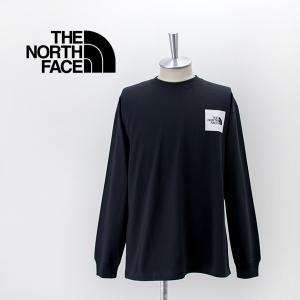 THE NORTH FACE ザノースフェイス メンズ ロングスリーブスクエアロゴティー(NT82136)(2021FW)|u-oak