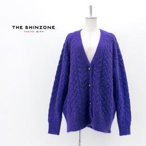 THE SHINZONE シンゾーン レディース CABLE CARDIGAN(21AMSNI05)(2021FW)|u-oak