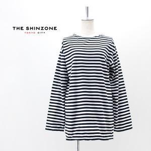 THE SHINZONE シンゾーン レディース マリンボーダーティー(19SMSCU93)(BASIC)|u-oak