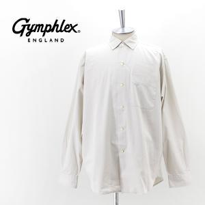 Gymphlex ジムフレックス メンズ ワイドボタンダウンシャツ(GY-B0012BIT)(2021FW)|u-oak