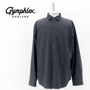 Gymphlex ジムフレックス メンズ スナップボタンシャツ(GY-B0013TWR)(2021FW)|u-oak