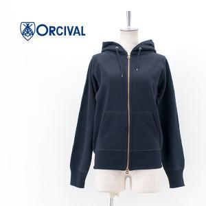 ORCIVAL オーシバル レディース フレンチテリーフルジップパーカー(RC-9007)(BASIC) u-oak
