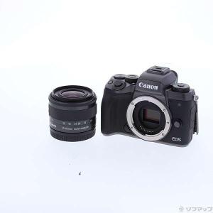 〔中古〕Canon(キヤノン) 〔展示品〕 EOS M5 EF-M 15-45 IS STM レンズ...