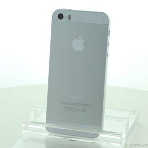 〔中古〕Apple iPhone5S 32GB シルバー ME336J/A SIMフリー〔344-u...