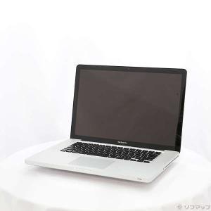 〔中古〕Apple(アップル) MacBook Pro 15-inch Mid 2012 MD103...