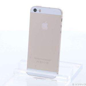 〔中古〕Apple iPhone5S 64GB ゴールド ME340J/A SIMフリー〔287-u...