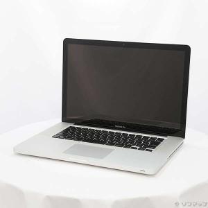 〔中古〕MacBook Pro 15-inch Late 2011 MD318J/A Core_i7 2.2GHz 8GB HDD500GB 〔10.11 ElCapitan〕〔297-ud〕|u-sofmap