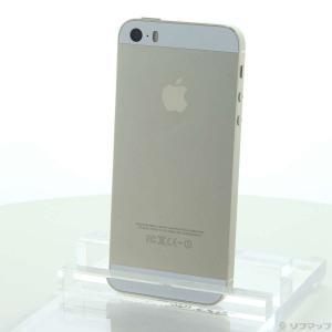 〔中古〕Apple iPhone5S 32GB ゴールド ME337J/A SIMフリー〔262-u...