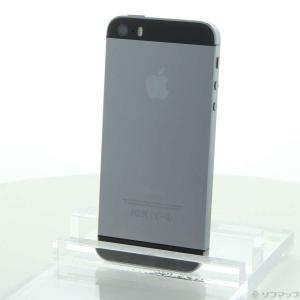 〔中古〕Apple iPhone5S 32GB スペースグレイ ME335J/A SIMフリー〔26...
