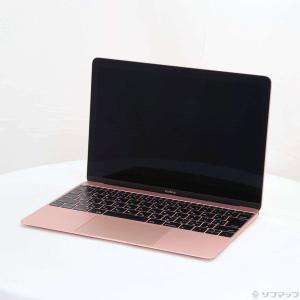 〔中古〕Apple(アップル) MacBook 12-inch Early 2016 MMGL2J/A Core_m3 1.1GHz 8GB SSD256GB ローズゴールド 〔10.12 Sierra〕〔346-ud〕|u-sofmap