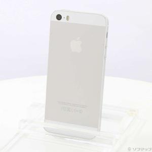〔中古〕Apple iPhone5S 16GB シルバー NE333J/A SIMフリー〔349-u...