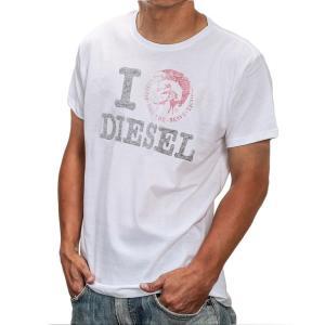 ディーゼル Tシャツ DIESEL T-I LOVE MAGLIETTA メンズ トップス