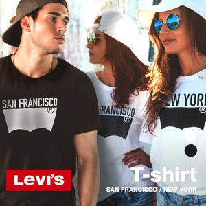 リーバイス Tシャツ バットウィングTシャツ メンズ レディース トップス 3LMST2679CC 3LMST2680CC|u-stream