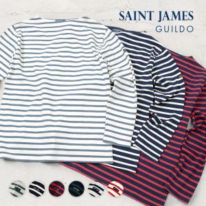 Tシャツ セントジェームス GUILDO R A メンズ レディース トップス Tシャツ 長袖 ボーダー ギルト