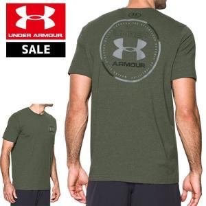 セール アンダーアーマー メンズ Tシャツ ヒートギア 背中ロゴ UNDER ARMOUR マントラTシャツ〔1289893〕|uacv