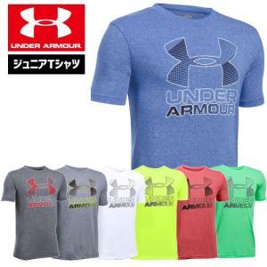 在庫処分セール アンダーアーマー ジュニア Tシャツ UNDER ARMOUR スレッドボーンTシャツ<ハイブリッドロゴ>|uacv