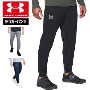 アンダーアーマー メンズ ジョガーパンツ パンツ ズボン 1290261  UNDER ARMOUR スポーツスタイルトリコット ジョガー|uacv