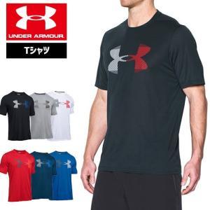 セール アンダーアーマー メンズ Tシャツ ビッグロゴ ヒートギア UNDER ARMOUR スレッドボーンサイロTシャツ<ビ|uacv