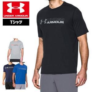 セール アンダーアーマー メンズ Tシャツ ヒートギア UNDER ARMOUR スレッドボーンサイロTシャツ<ワードマーク|uacv