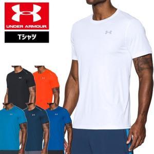 セール アンダーアーマー メンズ Tシャツ ランニング クールスイッチ ヒートギア UNDER ARMOUR クールスイッチラ|uacv