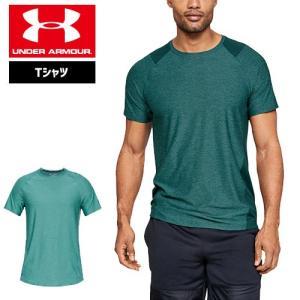 アンダーアーマー メンズ Tシャツ インナー 1306428 ヒートギア(夏用) UNDER ARMOUR MK-1ショートスリーブ|uacv