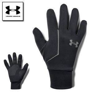 アンダーアーマー 手袋 メンズ グローブ スマホ対応 防寒 1318571 コールドギア(冬用) UNDER ARMOUR コールドギアインフラレッドライナーグローブ